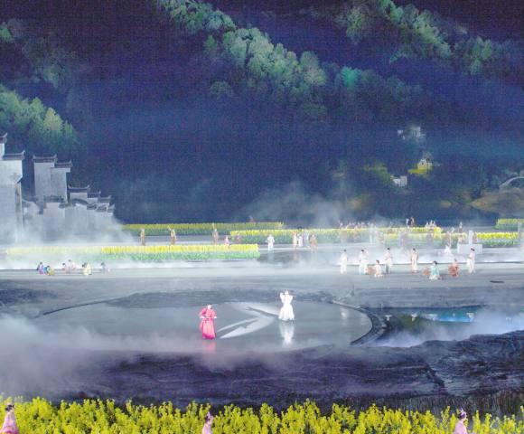梦里老家大型山水实景演出
